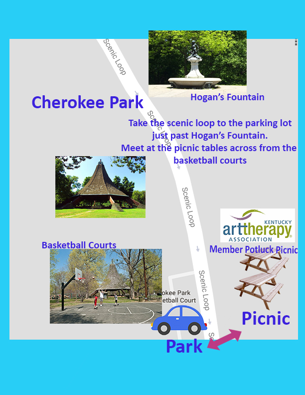 Map to the Member Picnic