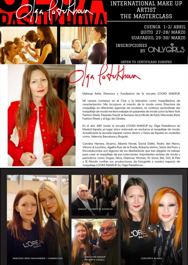Maquillaje profesional certifica internacional