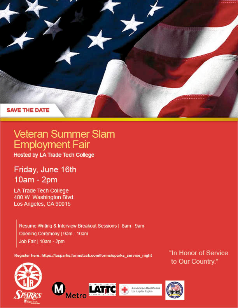 Veteran Quot Summer Slam Quot Employment Fair Tickets Fri Jun 16