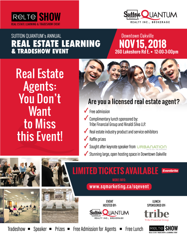 RELTE Show 2018 | Sutton Quantum Brokerage