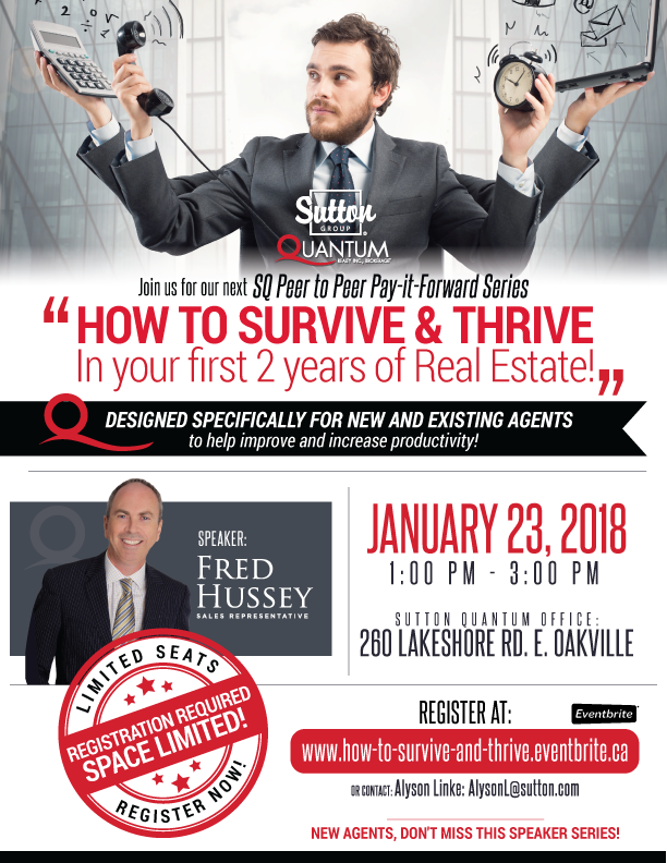 Sutton Quantum Presentation | How to Survive & Thrive in Your First 2 Years of Real Estate