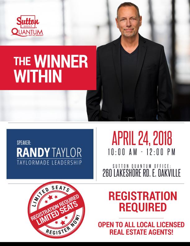 Randy Taylor Leadership Speaker | Sutton Quantum