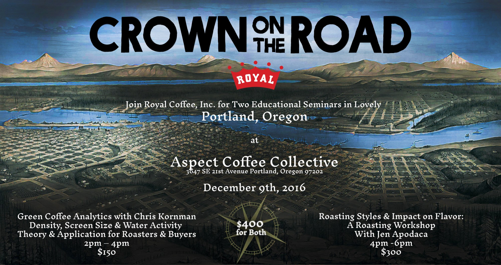 Crown on the Road Portland