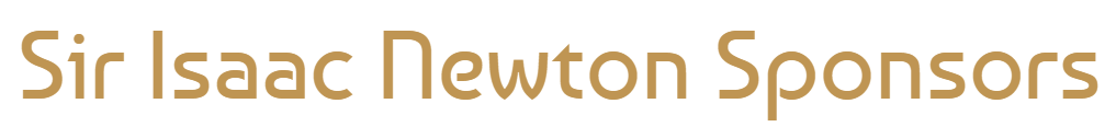 Sir Isaac Newton Sponsors