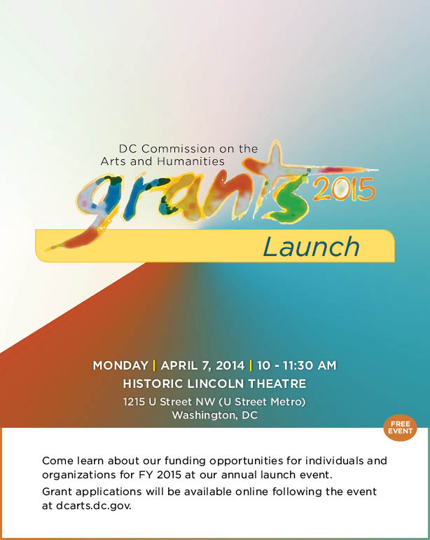 Grants 2015 Launch