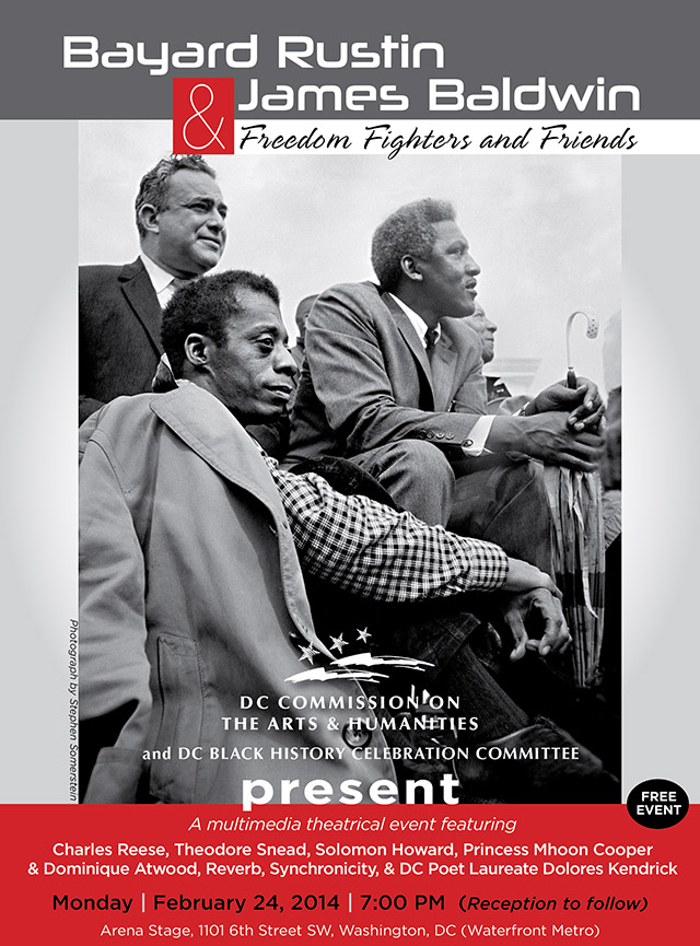Bayard Rustin and James Baldwin: Freedom Fighters and Friends