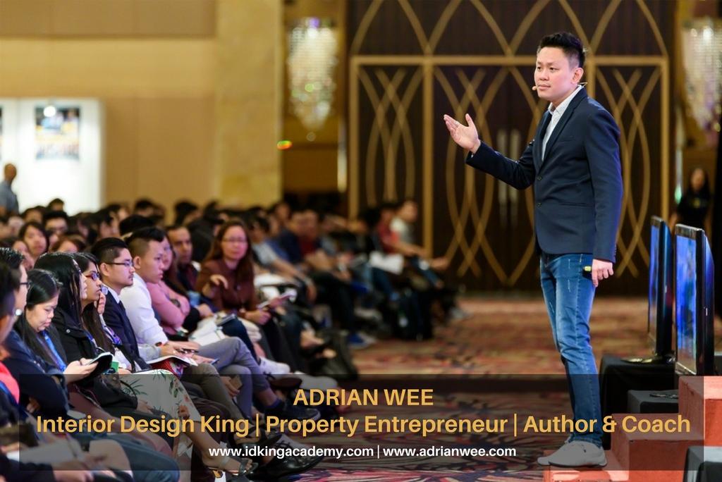 Adrian Wee Interior Design King | IDKing Academy