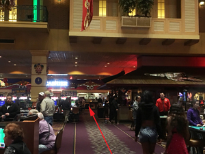 walk through casino