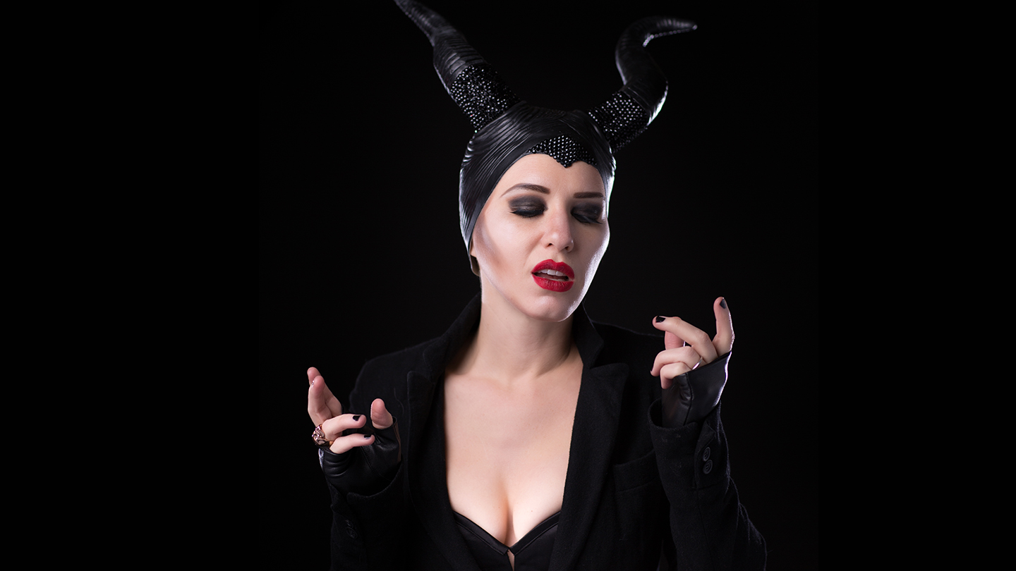 Kat as Maleficent