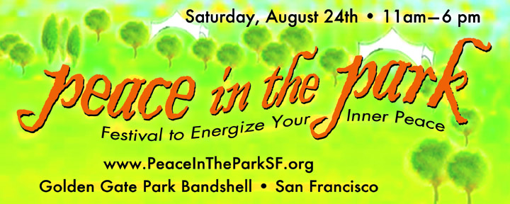 Peace in the Park San Francisco 2013