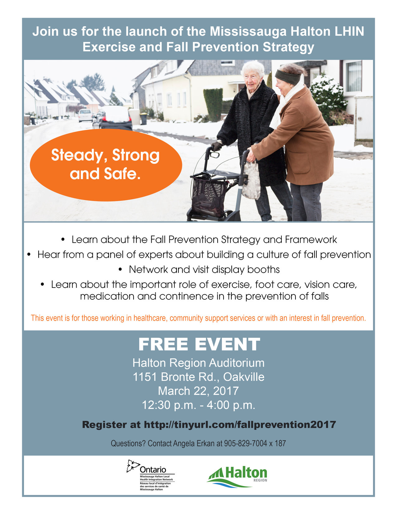 Exercise & Falls Prevention Day Flyer