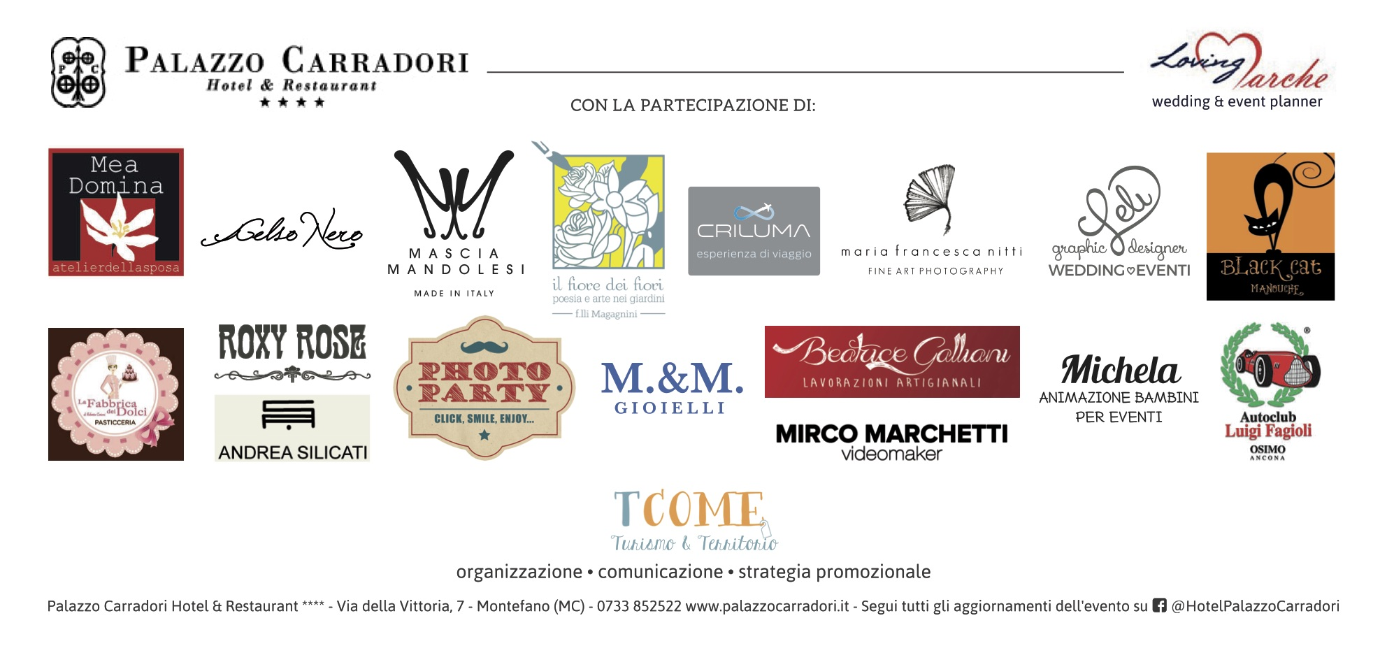 Espositori presenti all'evento