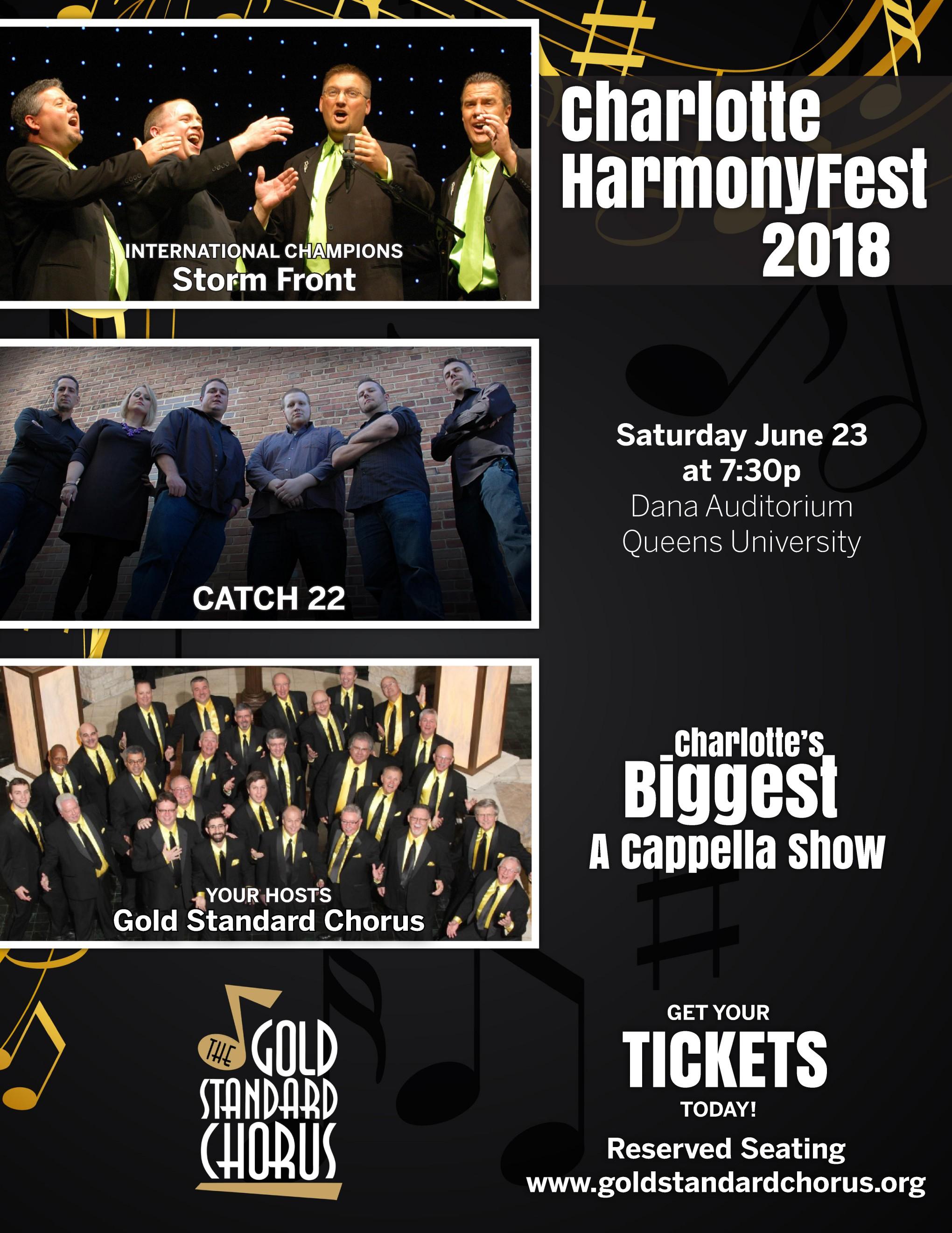 Harmonyfest 2018 Flyer