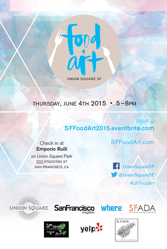 Food + Art Invite