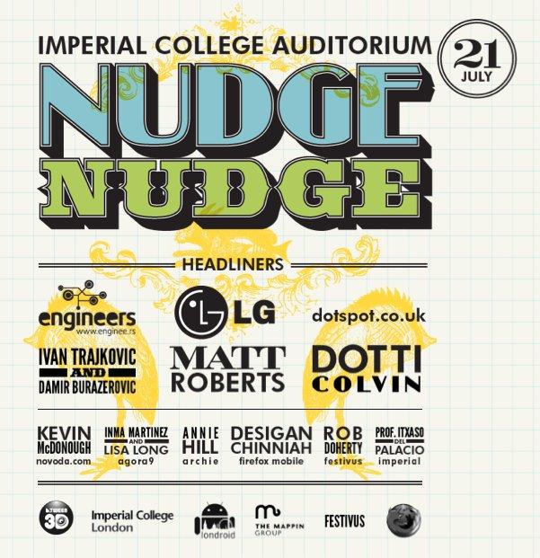 Nudge Nudge poster