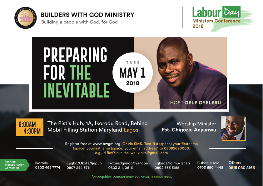 Labour Day Ministers Conference 2018