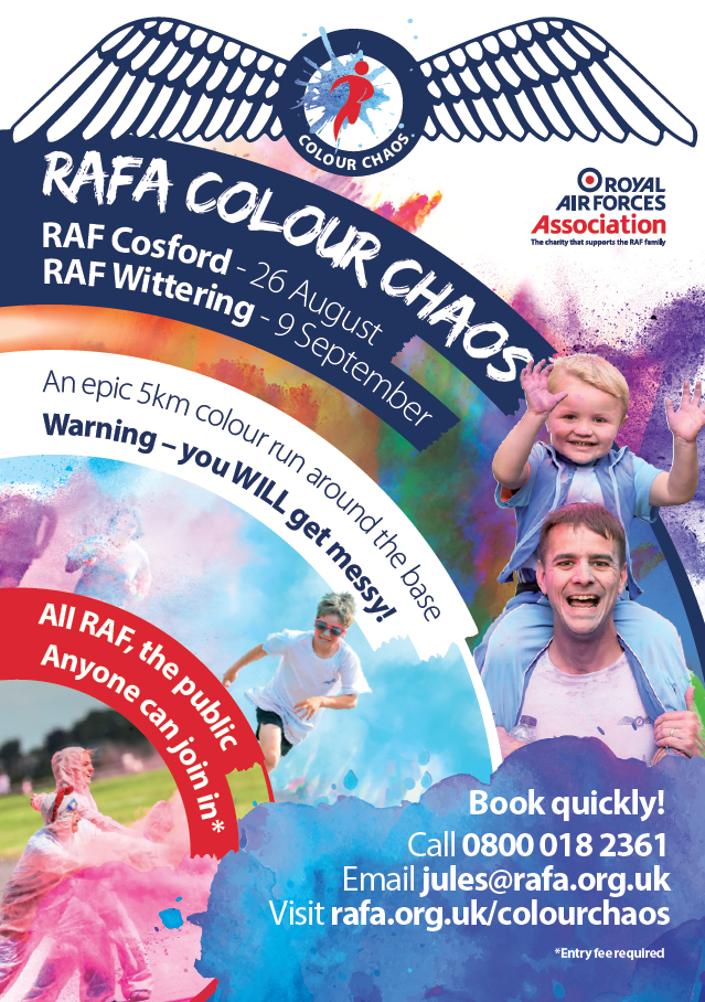 RAFA Colour Chaos Poster