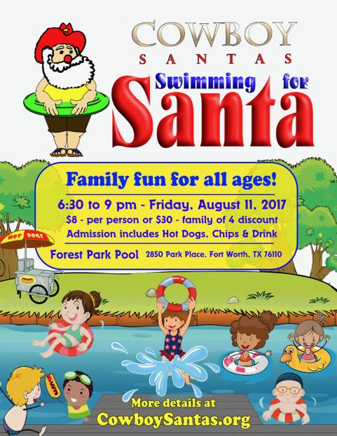 Swimming for Santa 2017