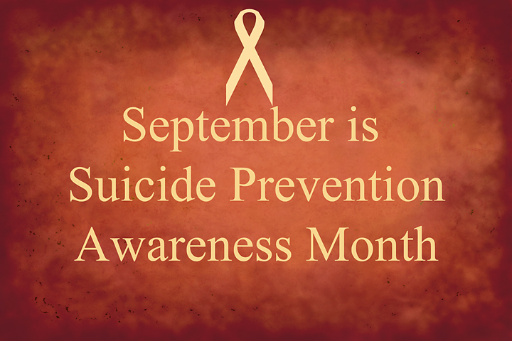 September is suicide awareness month
