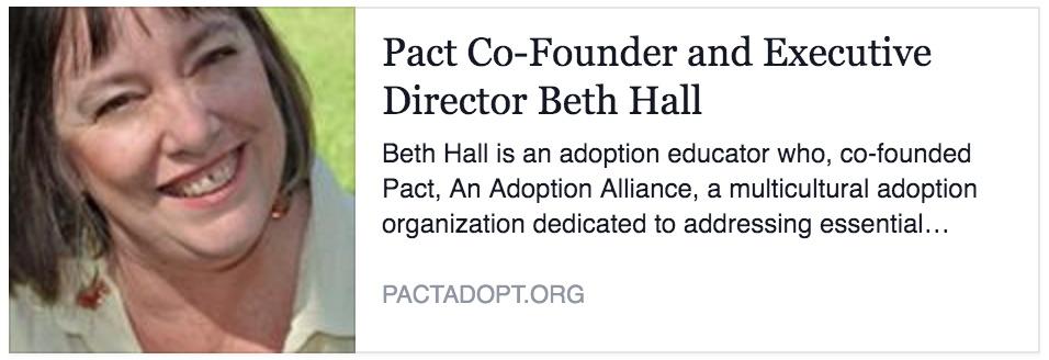Beth Hall, Pact