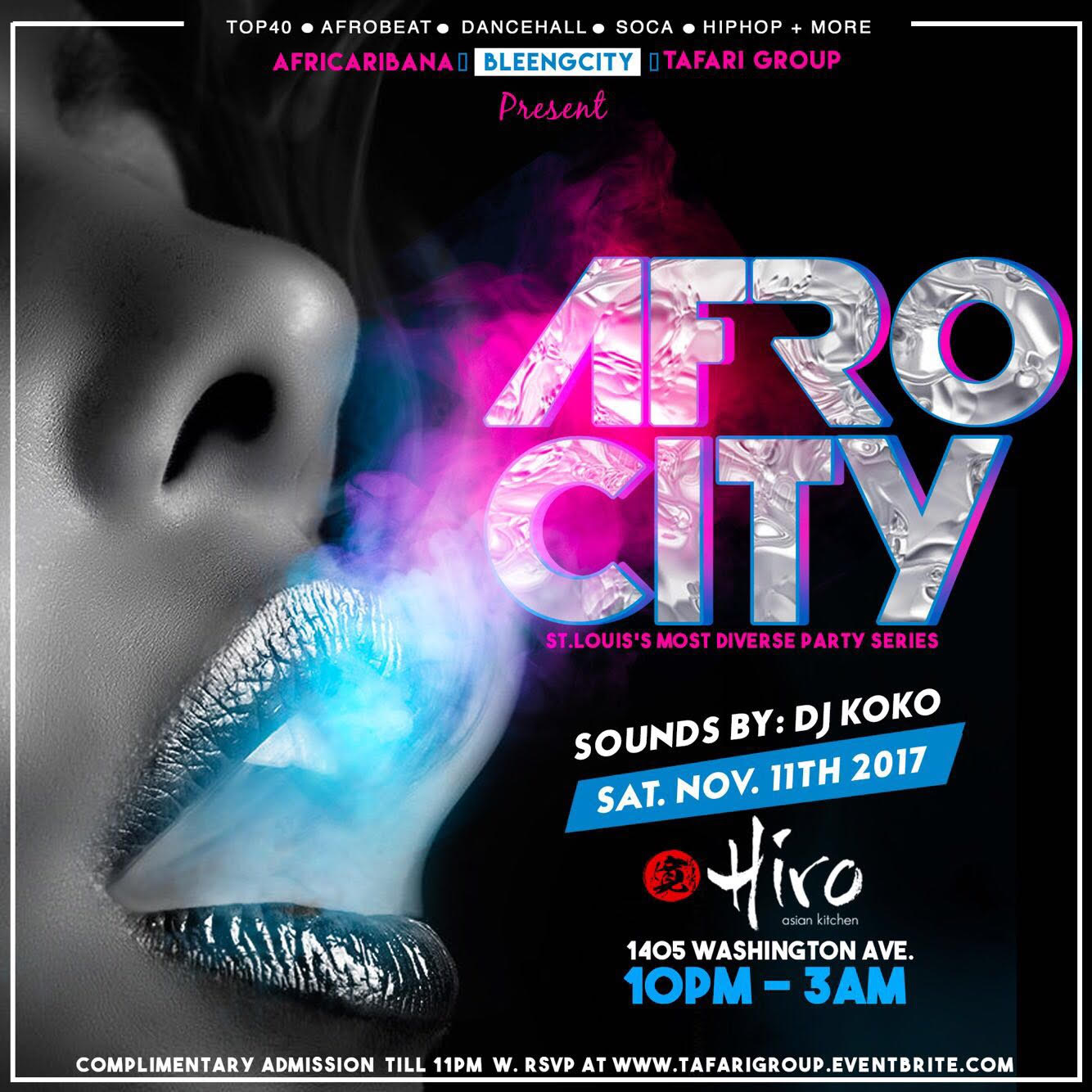 AFRO CITY: St. Louis's Most Diverse Party Series Tickets