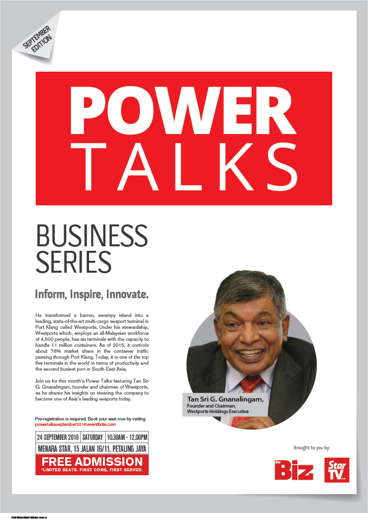 Power Talks: September Edition