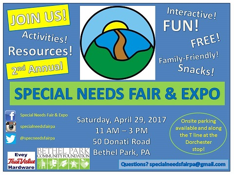 Special Needs Fair & Expo Flyer