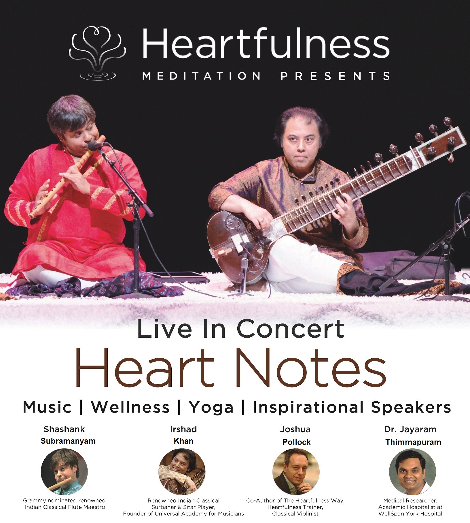 Music concert by the Grammy-nominated famous exponent of the Bamboo Flute