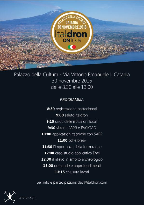 Italdron ON TOUR - Catania