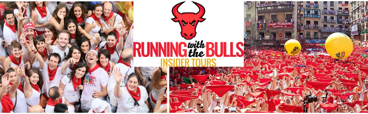 Running with the Bulls Pamplona