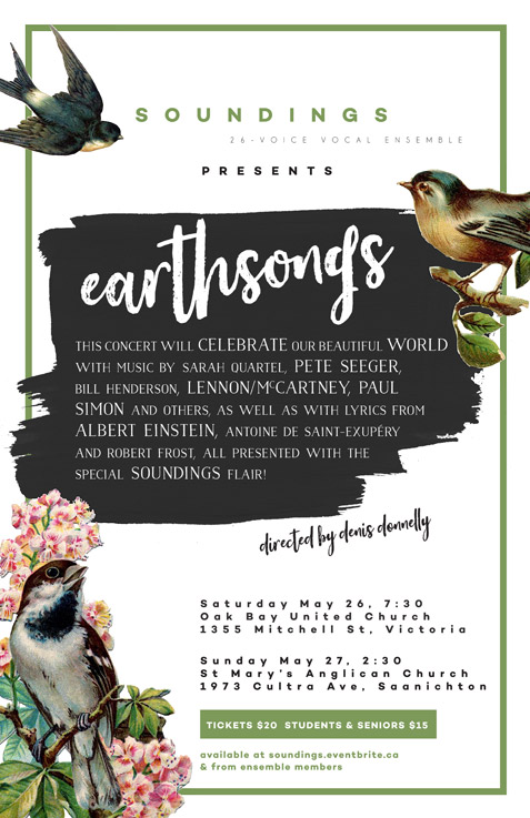 Soundings Earthsongs poster