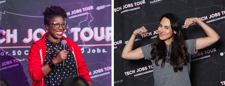 Hackbright Academy and Phenomenal Woman at Tech Jobs Tour 2017