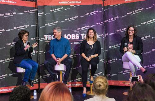 Tech Jobs Tour Panels