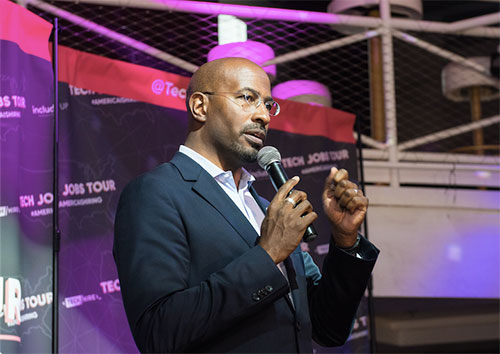 Tech Jobs Tour Van Jones