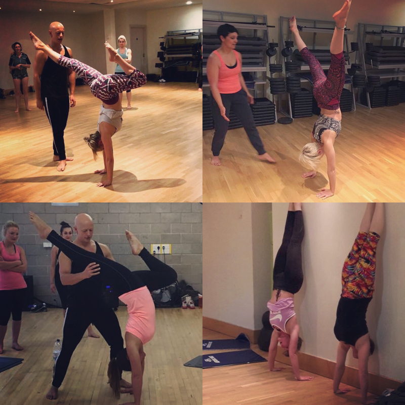 Ben Lowrey's showstopper Handstand workshops are designed to progress Yoga, Pole & Fitness enthusiasts towards a solid and confident handstand.