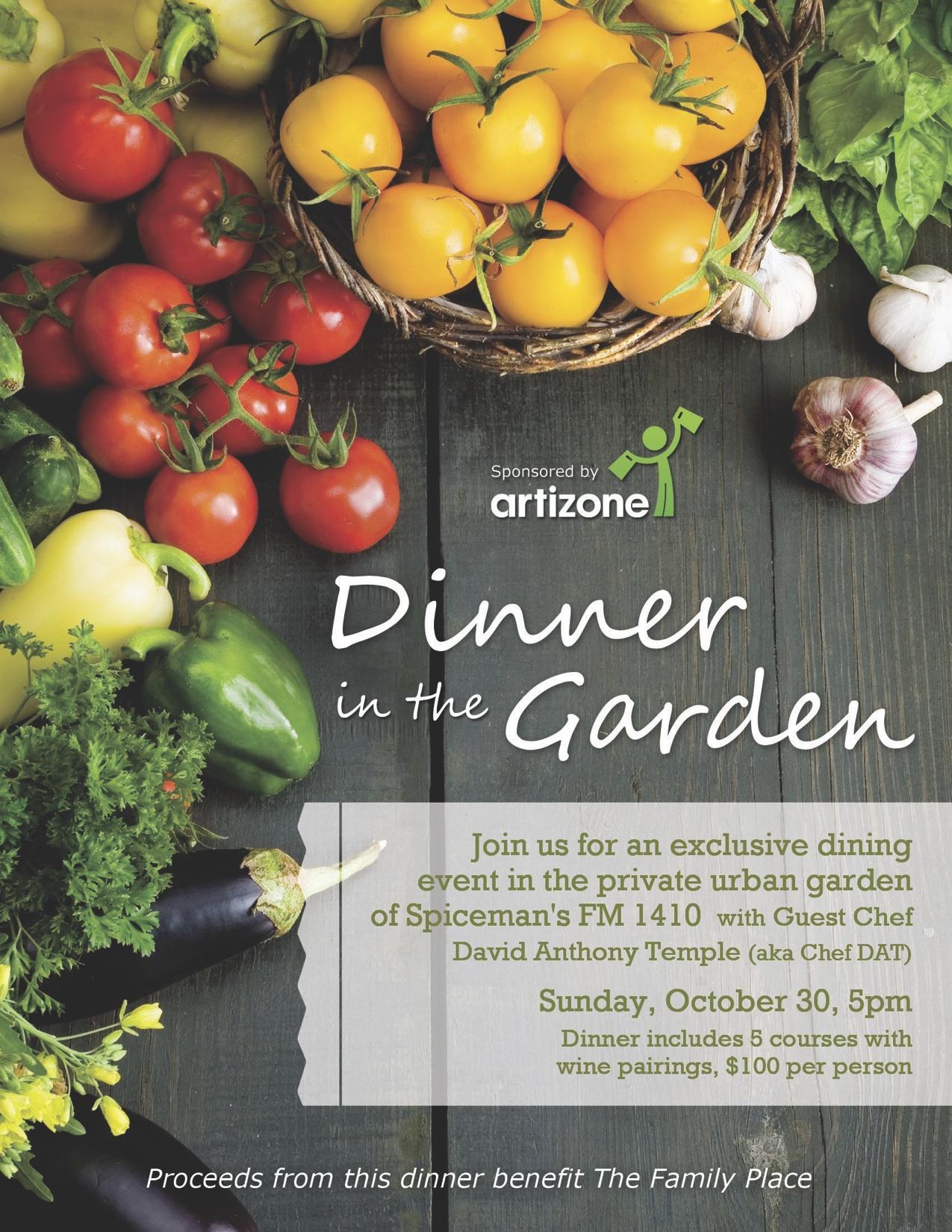Dinner Event Flyer