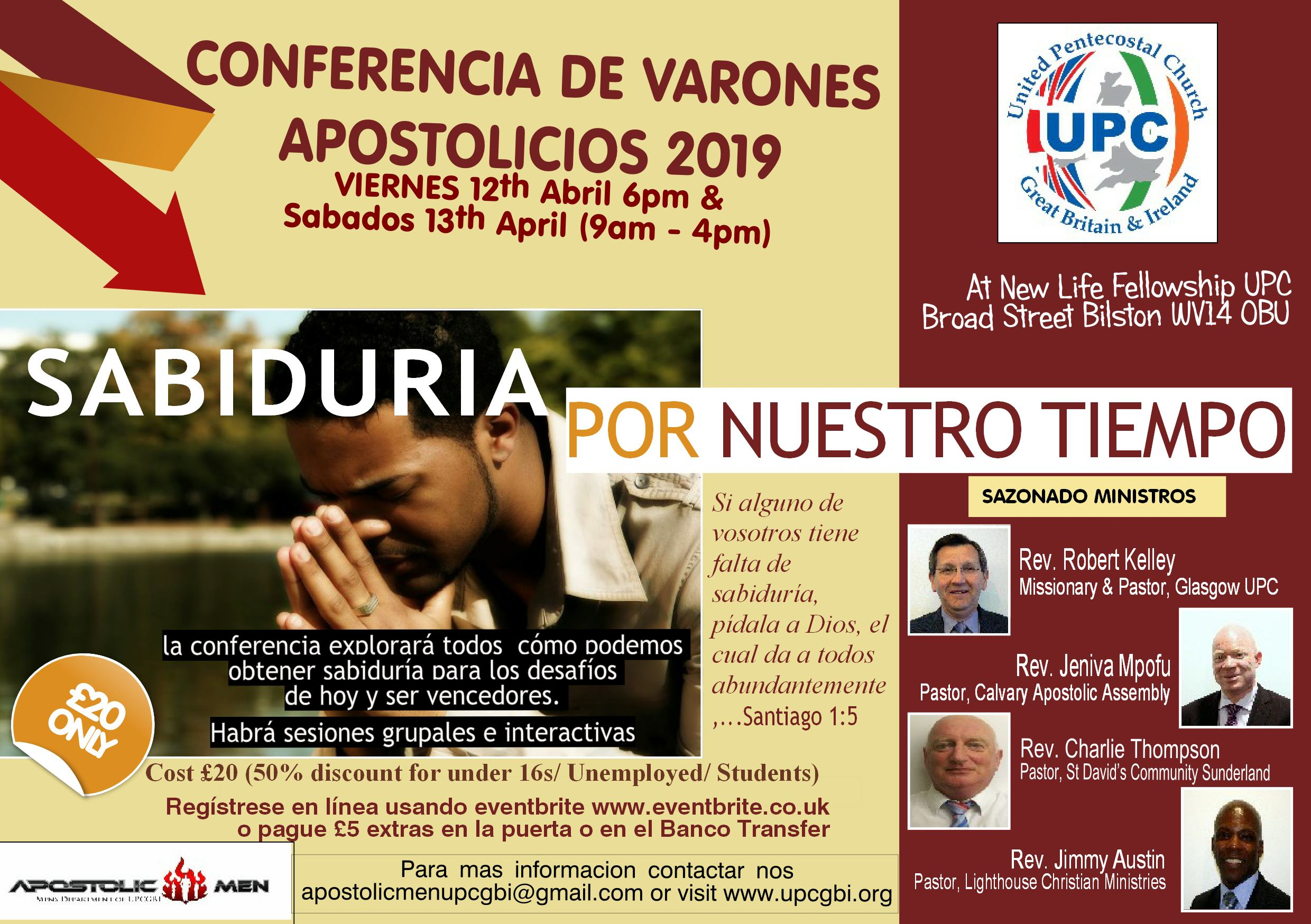 AMC 2019 - Wisdom or Our Time (Spanish flyer)