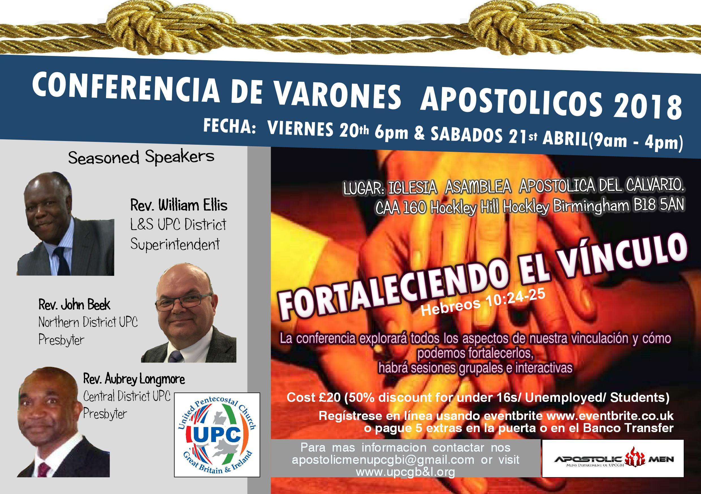 APOSTOLIC Men's Conference 2018