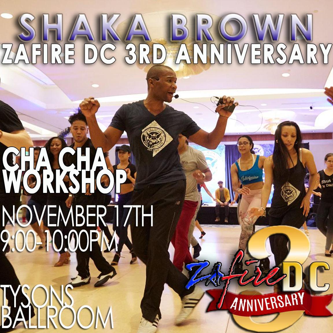 Shaka workshop