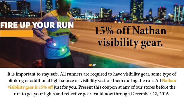 15% off lights Runners Forum holliday run