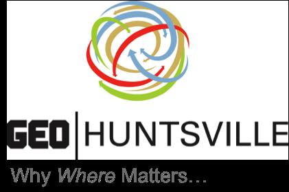 GEOHuntsville Logo - Why Where Matters...
