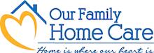 our family home care logo