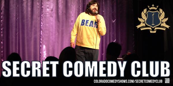 Secret Comedy Club | Chuck Roy