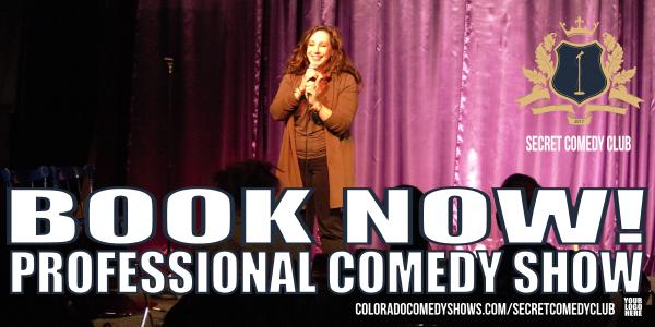 Secret Comedy Club | Book Now!