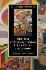 Cover of the Cambridge Companion to British Black and Asian Literature (1945-2010)