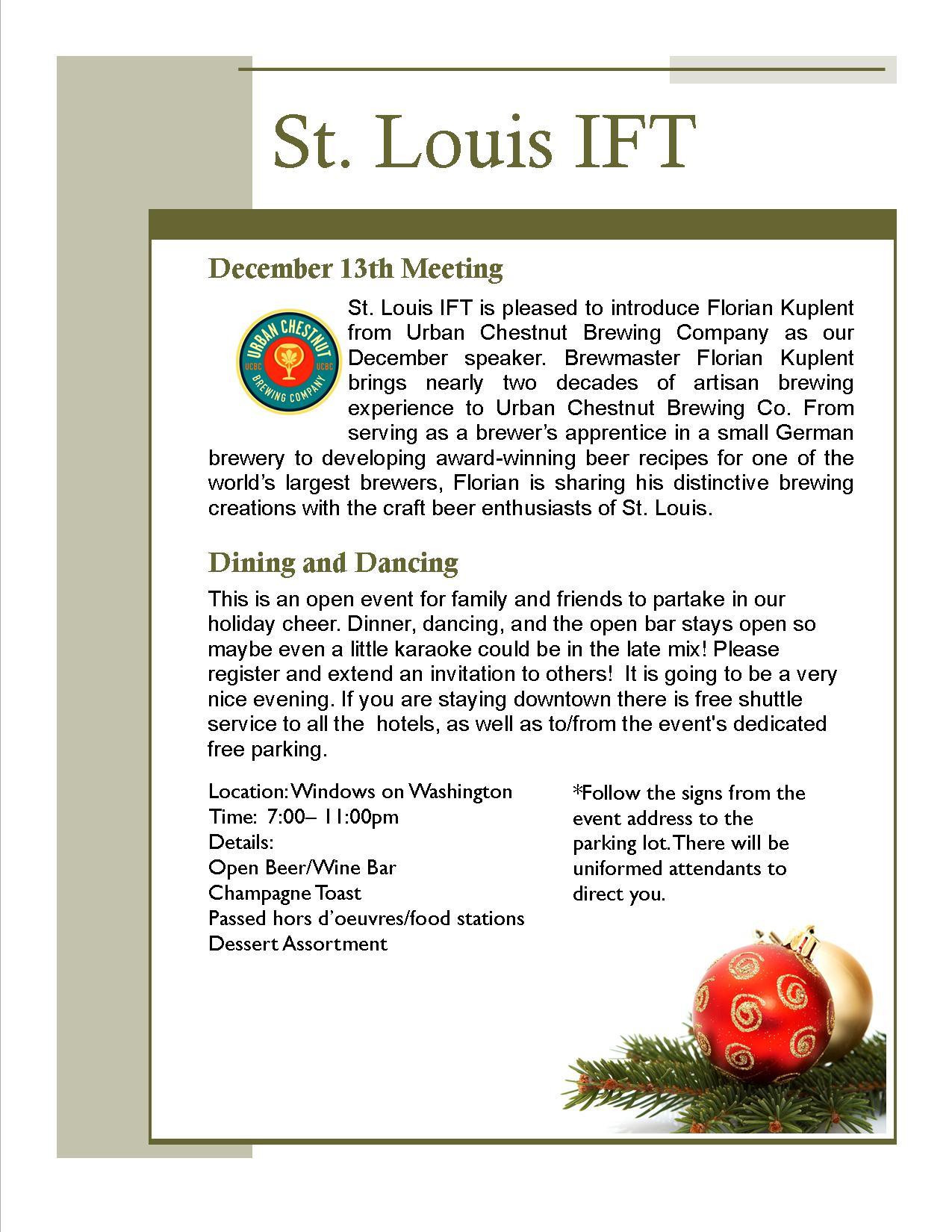 December Flyer