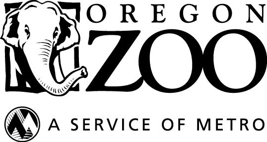 Oregon Zoo + Metro logo