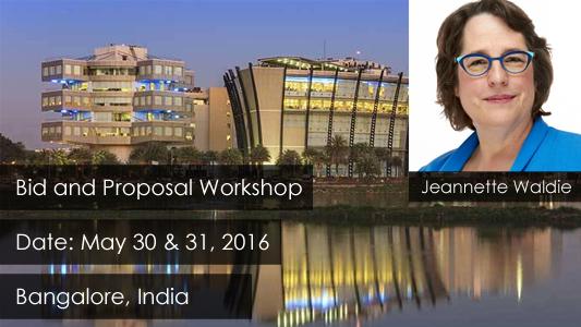 Bid and Proposal Management Workshop - Bangalore