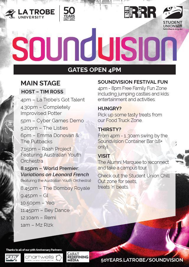 soundvision lineup