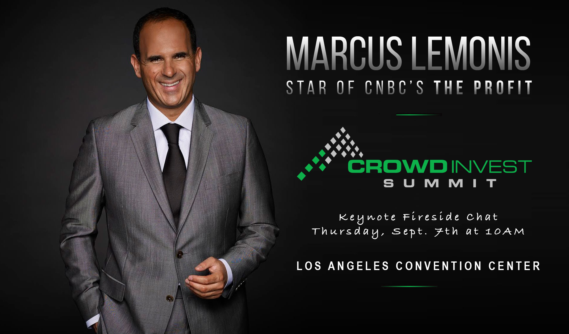 Marcus Lemonis to Keynote Crowd Invest Summit